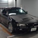 1999 NISSAN SKYLINE GT-R black front