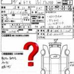 Auction Sheet Question Mark