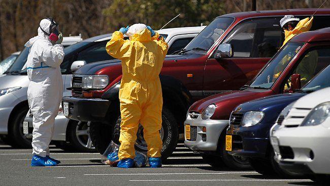Radioactive contamination testing