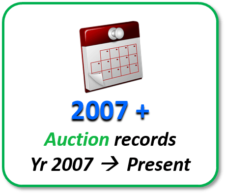Japan auction records from 2007